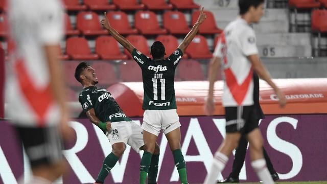 Libertadores - Palmeiras vence River Plate e se aproxima da final