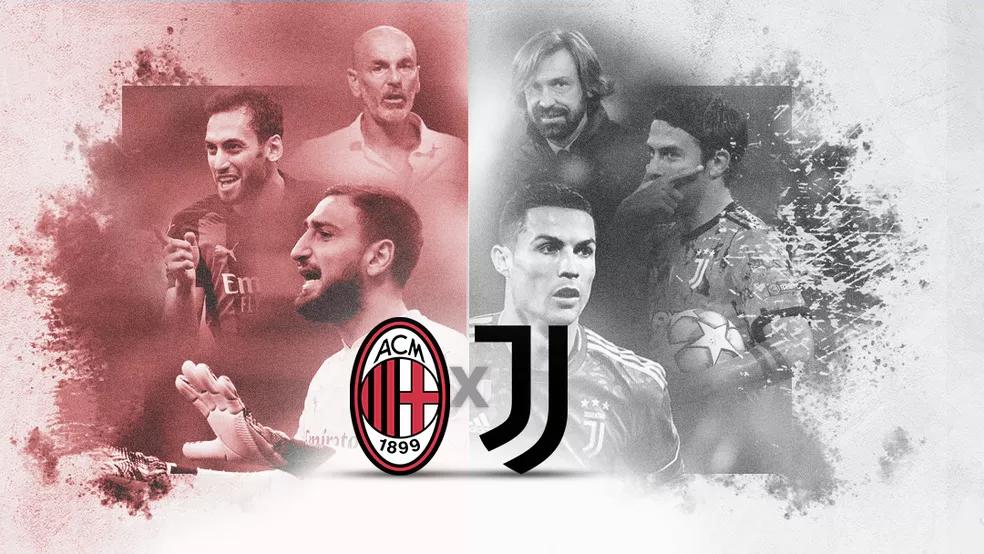Clássico: Milan enfrenta Juventus de Cristiano Ronaldo nesta quarta-feira